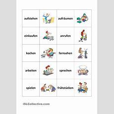 Trennbare Verben  Memory  Hallo, Kinder, Wir Lernen Deutsch  Deutsche Sprache, Deutsch Lernen