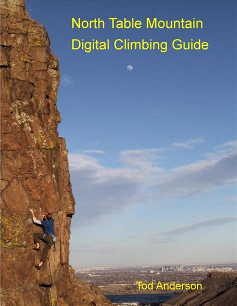 north table mountain climbing north table mountain rock climbing guidebook