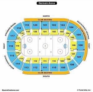 Germain Arena Seat Map Www Microfinanceindia Org