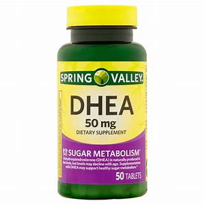 Spring Valley Dhea Tablets  50 Mg  50 Count - Walmart Com