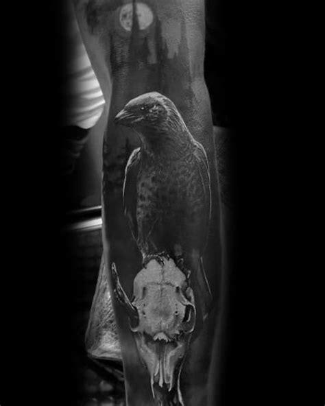 50 Gothic Tattoos For Men - Dark Body Art Design Ideas
