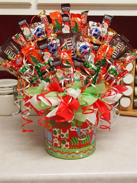 Christmas Candy Bouquet $3599, Via Etsy  Fun Ideas