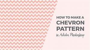 how to make a chevron pattern in photoshop youtube With how to make a chevron template