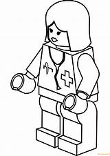 Lego Coloring Pages Doctor Lady Nurse Printable Super Legos Heroes Games Waiting Drawing Printables Room Dolls Print Aquaman Crafts Categories sketch template