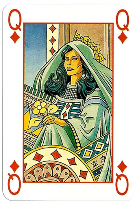 queen  diamonds martin mystere deck  images