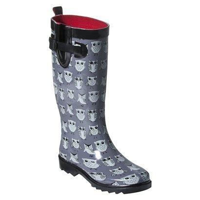 Owl Rain Boots Target