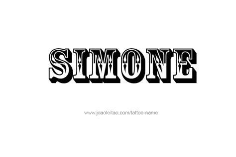 simone  tattoo designs