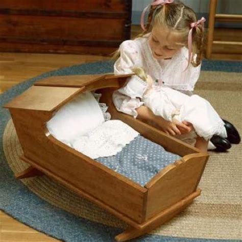 ts  doll cradle woodworking plan