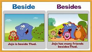 Problem Prepositions - Beside and Besides - YouTube