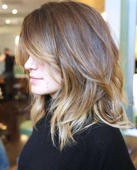 28 layered long bob hairstyles and lob haircuts 2018