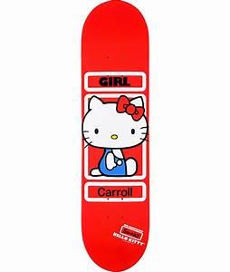 Hello Kitty Decke : girl x sanrio carroll hello kitty skateboard deck at zumiez pdp ~ Sanjose-hotels-ca.com Haus und Dekorationen