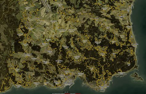 exp dayz  interactive loot map updated