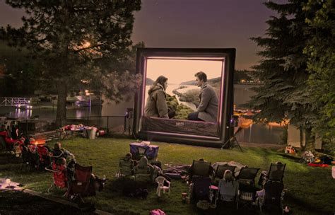 Backyard Screen Rentals by Backyard Screen Up To 100 Guests Funflicks Outdoor