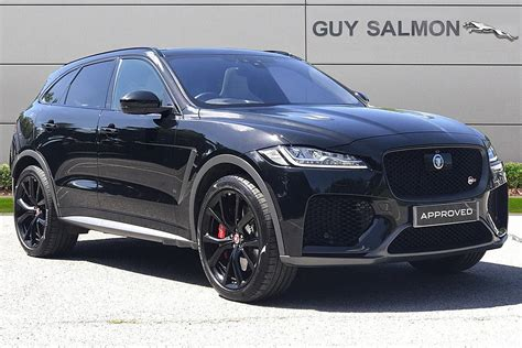 There isn't too much physique roll. Used 2019 Black Jaguar F-Pace for sale   PistonHeads