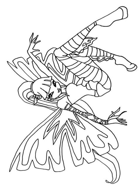 winx da colorare musa musa winx coloring pages and print musa winx