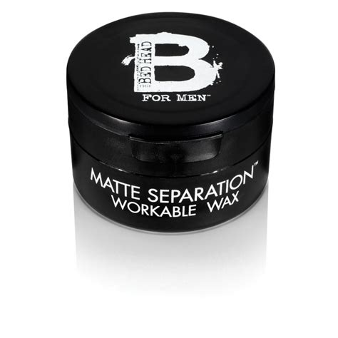tigi bed head for men matte separation workable wax 75 ml
