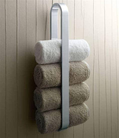 diy towel storage ideas  easily organize  bathroom