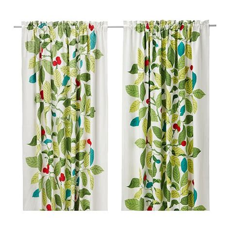 ikea stockholm blad pair of curtains ikea heavy material