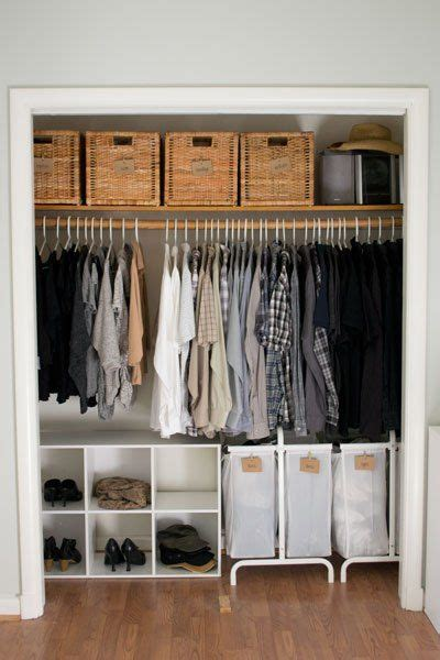 Small Cloth Cupboard by 16 Brilliant Ways To Squeeze So Much More Into Your Closet