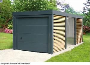 Fertiggaragen Aus Holz : sektionaltor mit carport nichts ist unm glich mit dem ~ Articles-book.com Haus und Dekorationen
