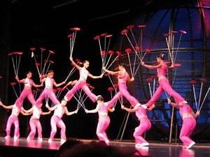 The crazy stuffAmazing Skillful Circus Acrobatics