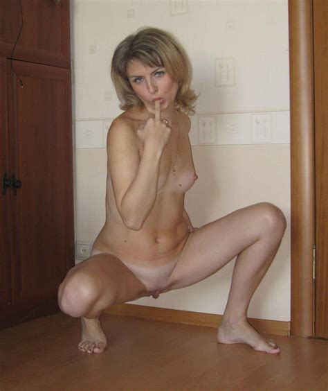 Hot russian milf with small tits and with carrot in ass | Russian Sexy Girls