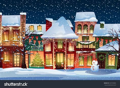 image result  santa village backdrop christmas