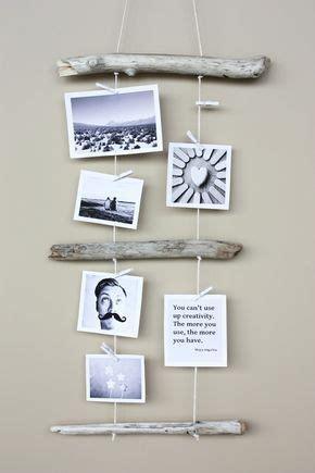 Bilder Kreativ Aufhängen by Kreativ Fotos Aufh 228 Ngen Mit Holz Und Garn