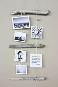Ideen Fotos Aufhängen : kreativ fotos aufh ngen mit holz und garn wandgestaltung pinterest ~ Yasmunasinghe.com Haus und Dekorationen