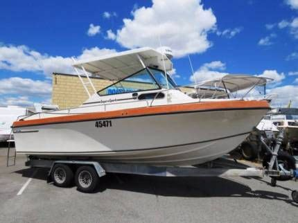 Motor Boats For Sale Gumtree by Baron Super Sports 23 Looks Brand New Motorboats