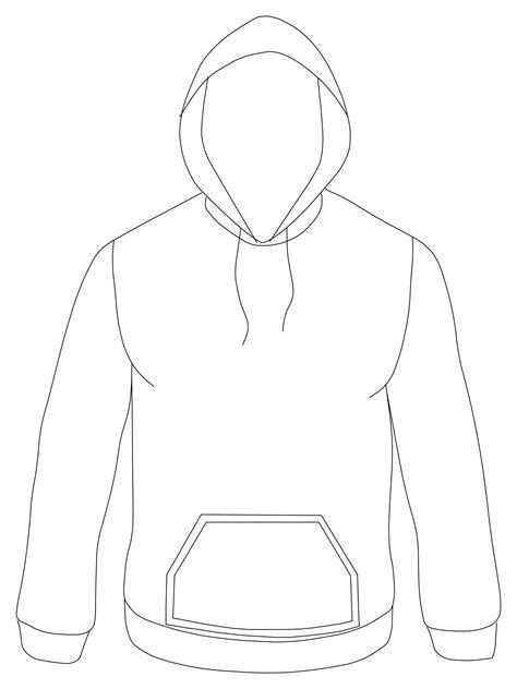 Hoodie Template 90 Hoodie Design Template Hooded Sweatshirt With Zipper