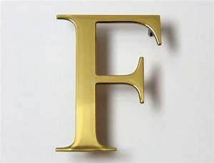 Brass lettering a sign makers blog for Brass letters for signs