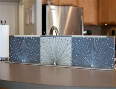 Kitchen Sink Backsplash Guard by Commissions Nye Glass