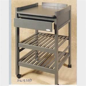 Table à Langer Bois : table langer en bois gris la maison de l 39 enfant ~ Teatrodelosmanantiales.com Idées de Décoration