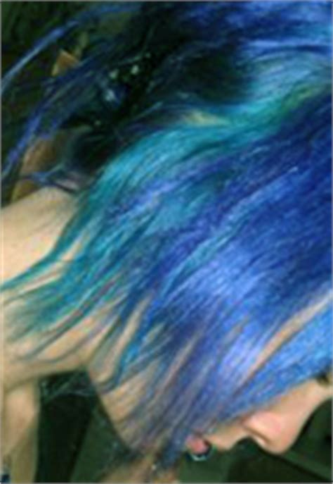 special effects hair dye electric blue pictures  reviews