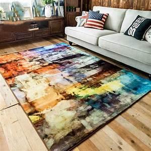 Tapete Living : kingart modern abstract brief sofa carpet kid room thick ~ Yasmunasinghe.com Haus und Dekorationen