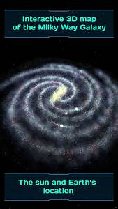 Interactive 3d Map Of The Milky Way Galaxy