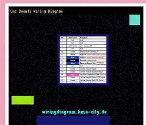 Gmc Denali Wiring Diagram  Wiring Diagram 185626
