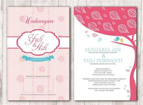 desain undangan pernikahan terbaik