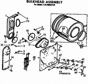 Bulkhead Assembly Diagram  U0026 Parts List For Model