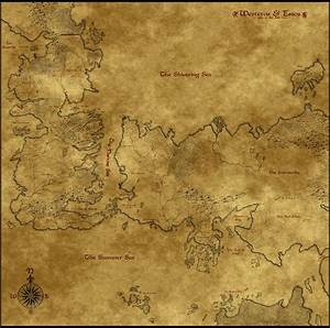 Map of Westeros, Essos, Sothoros v2.0 by Astrogator87 on ...