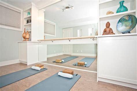 dandzt interior designers yoga room transitional home gym calgary by ana