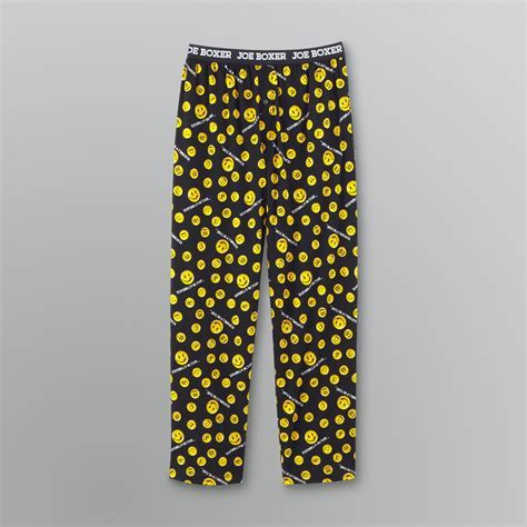 Joe Boxer Men's Textually Active Pajama Pants   Clothing