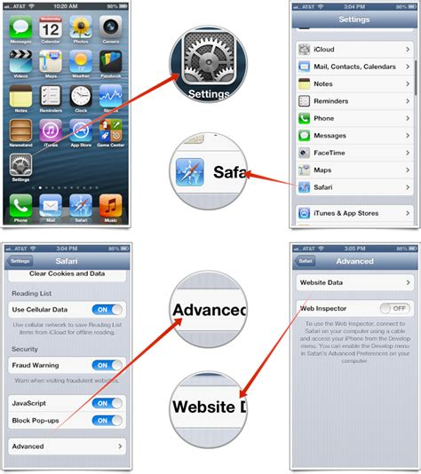 how to clear safari history on iphone how to clear all website data from safari on iphone and