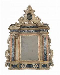 Miroir Baroque Argenté : miroir baroque italie deb xviiie s forme d 39 un ancien au ~ Teatrodelosmanantiales.com Idées de Décoration