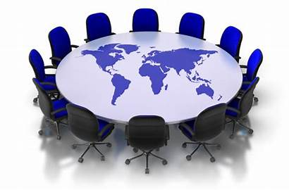 Table Round Clipart Conference Its Tip Week