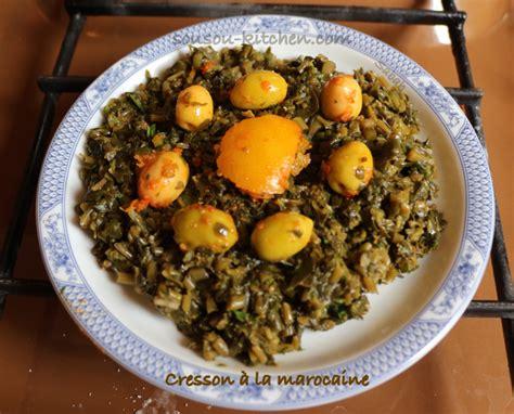 recette de la cuisine marocaine recette de pourpier à la marocaine sousoukitchen