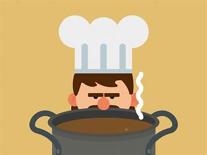 Chef Animation Cook Cooking Kitchen Fun Dribbble