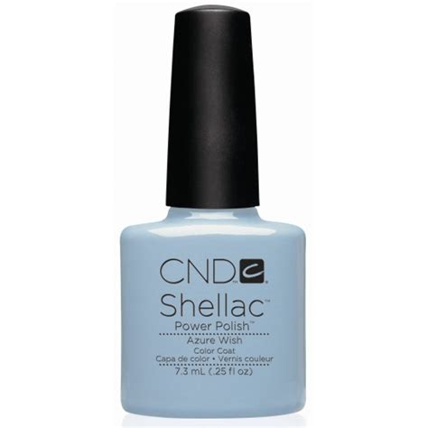 Cnd Uv L by Cnd Shellac Azure Wish L Gel Nails
