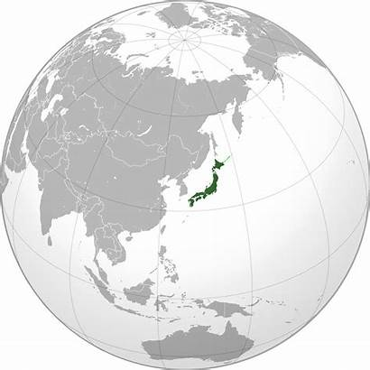 Japan Location Map Asia